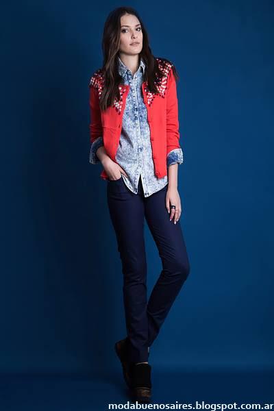 Sacos tejidos invierno 2015 moda mujer Estilo Ambar.