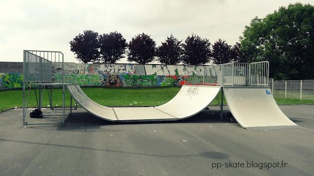 Skatepark Caudry rampe
