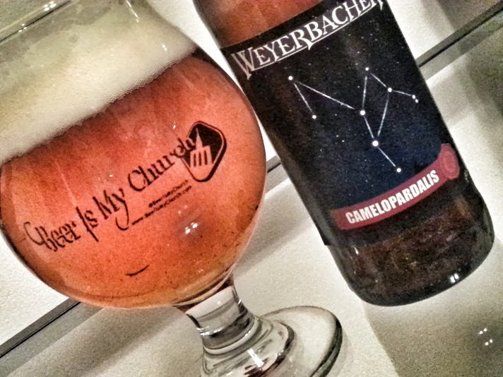 Weyerbacher Camelopardalis, Brewer's Select Series, Belgian Style Imperial IPA