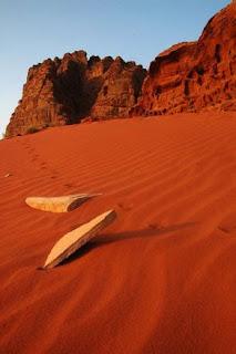 Un desierto rojo en Jordania