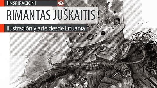 Ilustración y arte de RIMANTAS JUŠKAITIS