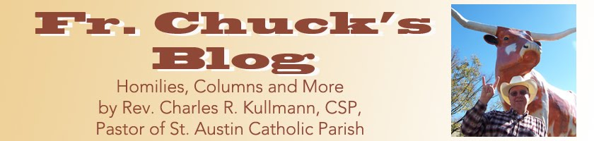 Fr. Chuck's Blog