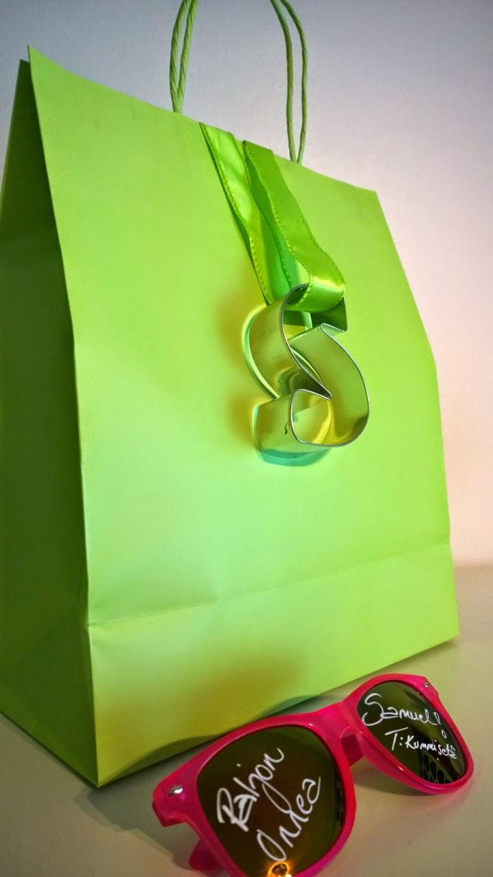 kaikki paketissa syntymäpäivälahja paketointi-idea