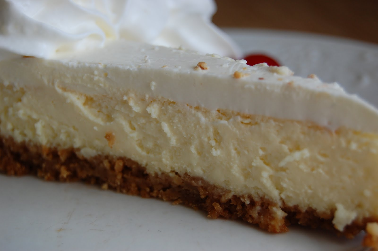 Food, Fun & Life: Sour Cream Cheesecake