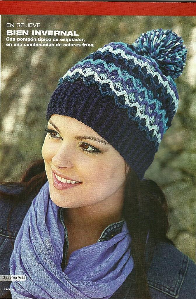 SOLO PUNTOS: Gorros crochet