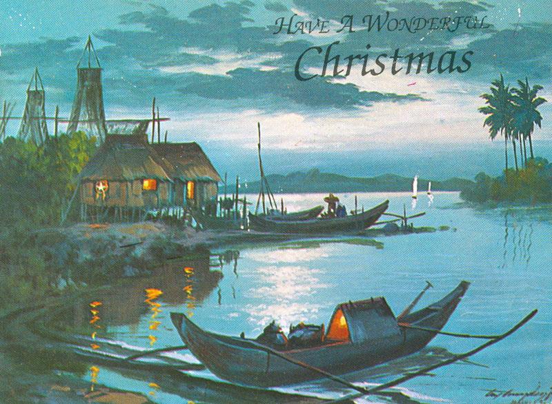 Pinoy Kollektor 79 1960s Native Philippine Christmas Cards