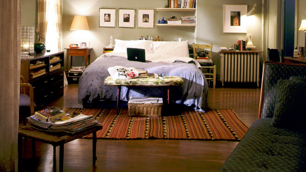 The lovely side get the look carrie 39 s apartment on for Apartment matchmaker
