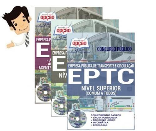 Apostilas do Concurso EPTC Porto Alegre 2017 - Diversos Cargos