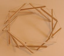 Heptagonal Prism with 2 layers.