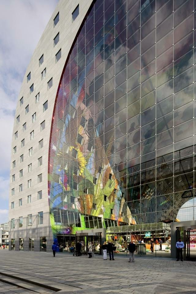 Holland's Largest Indoor Market — Largest Covered Marketin In The Netherlands by MVRDV