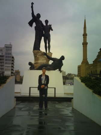 Martyr's Statue downtown Beirut