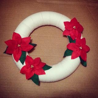 χειροποίητα χριστουγεννιάτικα στεφάνια