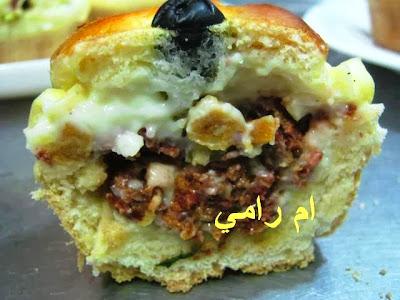 خبزات باللحم والكريمة  13402840561