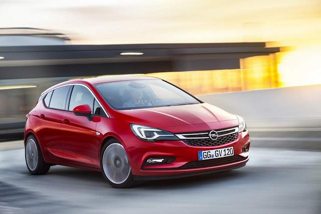 Novo Opel Astra 2016