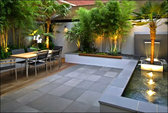 Modern garden design and beautiful garden design armin for Very small backyard ideas
