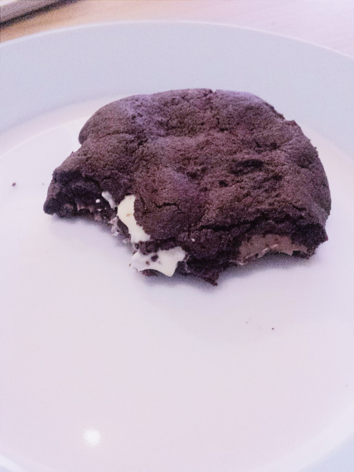 Tanya Burr Triple Chocolate Cookies