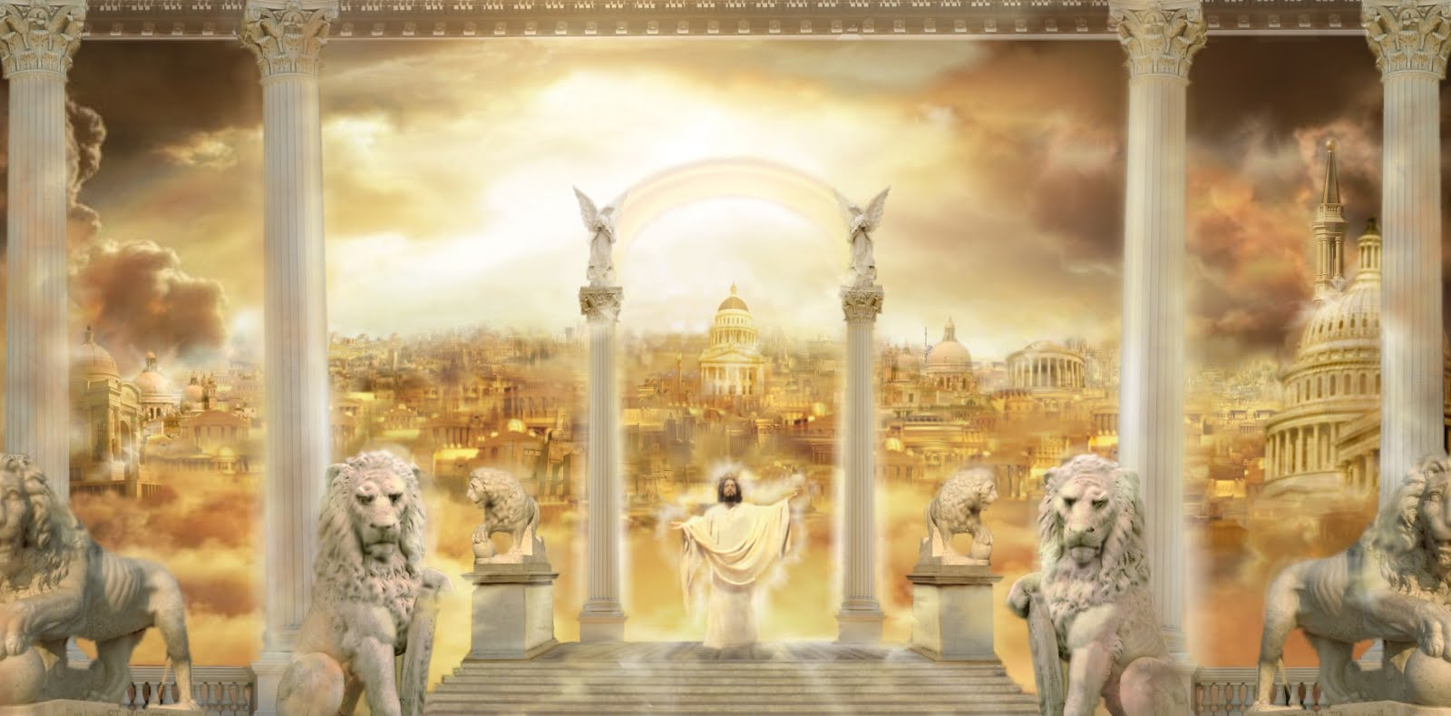 Jesus Is My Salvation: Mansions In Heaven