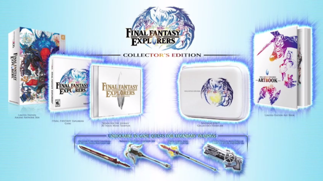 Final Fantasy Explorers Collector's Edition Nintendo 3DS