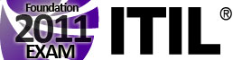 ITIL Foundation EXAM 2011