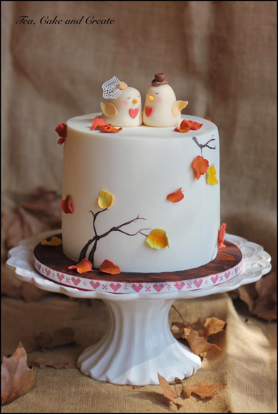 Tea Cake & Create Autumn Leaves Tutorial