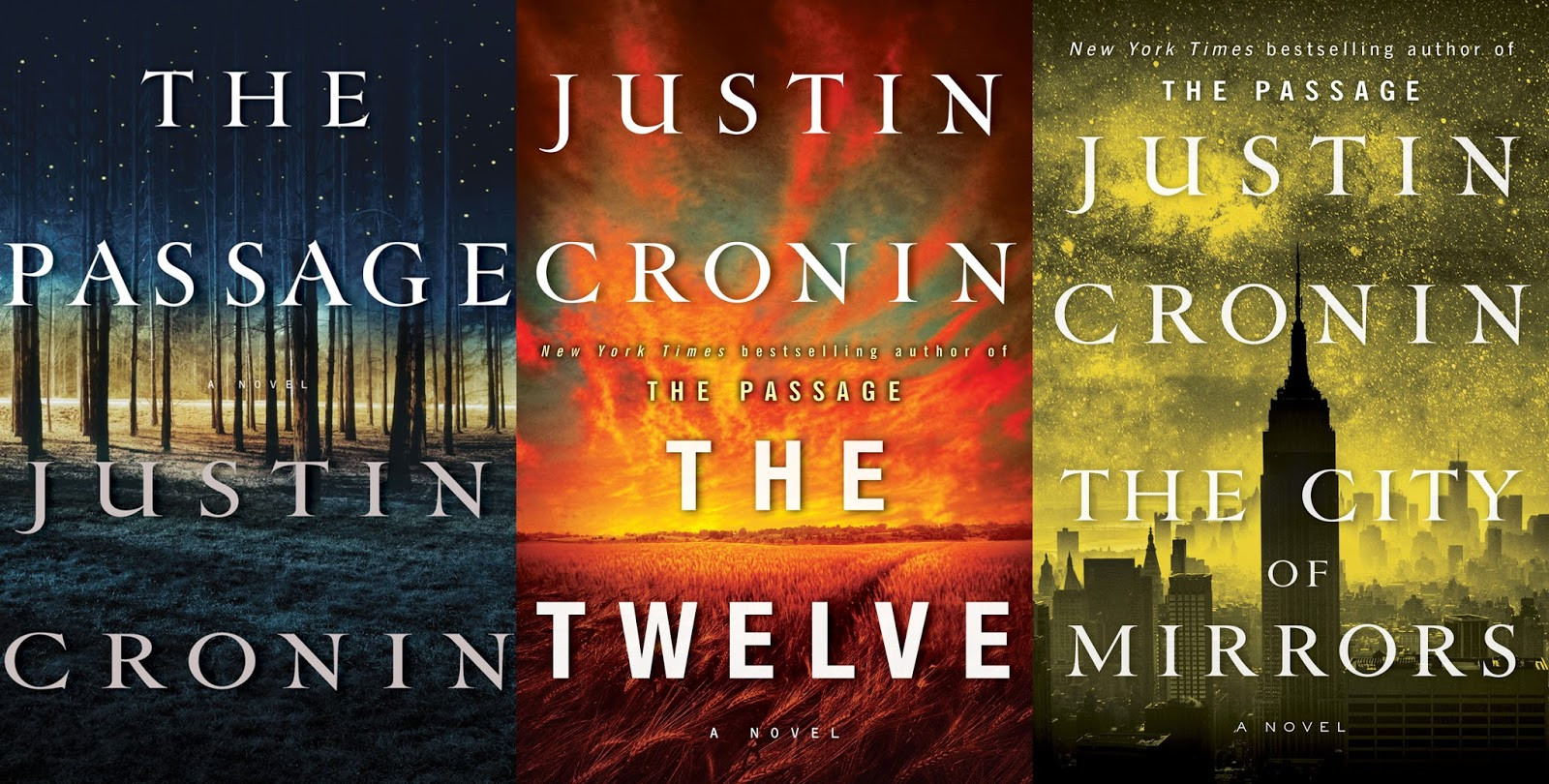Image result for the passage trilogy
