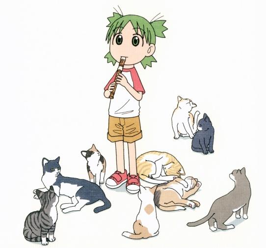 Concours de personnages - détails - Page 2 Yotsuba_chats