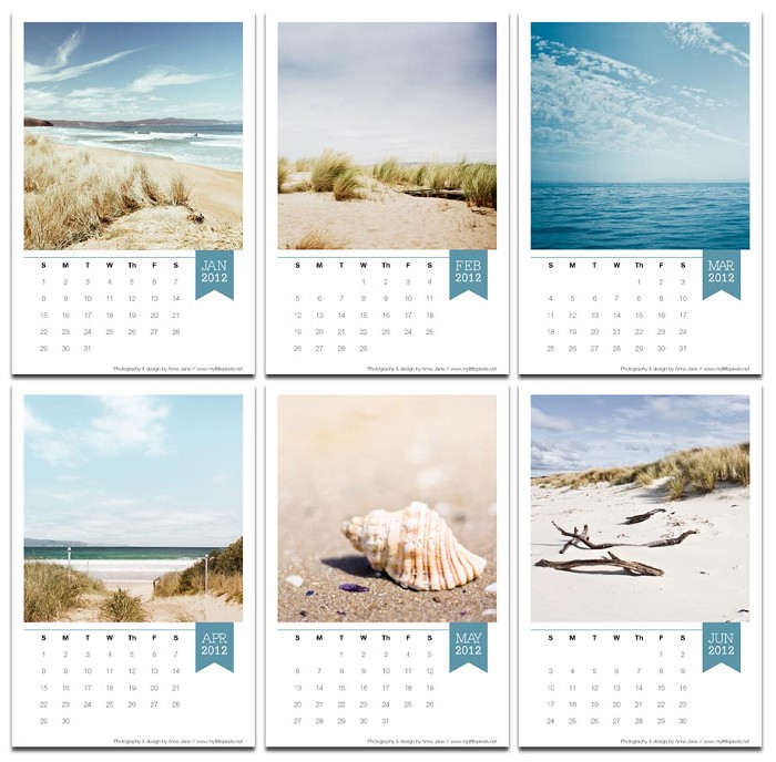 Handmade Calendar Design : C percy designs handmade finds summertime