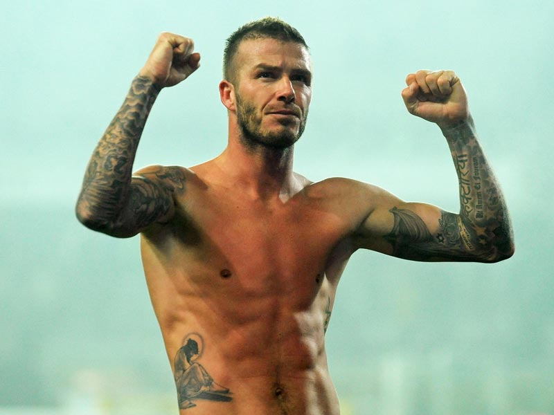 david beckham tattoos. david beckham tattoos jesus.