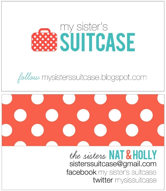 Custom Luggage Tags {and Business Card holder} - My Sister\'s ...