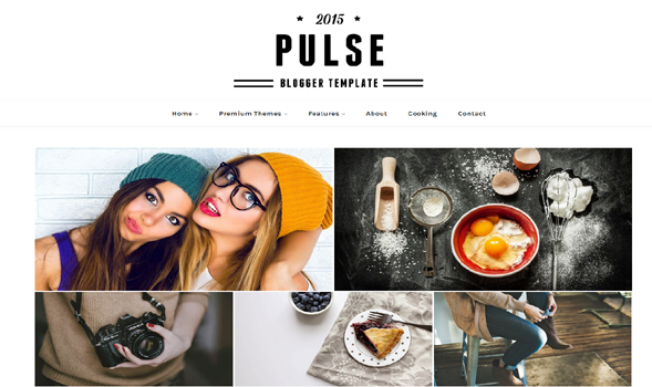 Pulse Blogger Template
