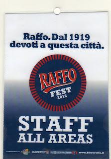 Pass Raffo Fest 2012