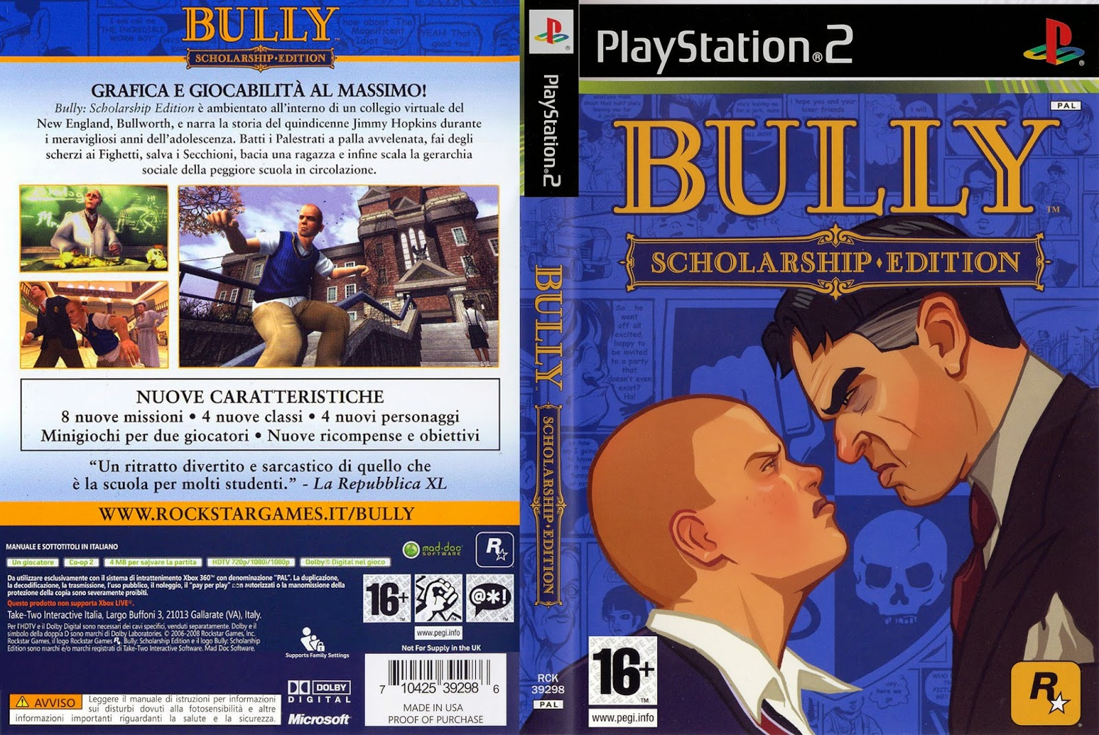 Kode Cheat Bully – PS2
