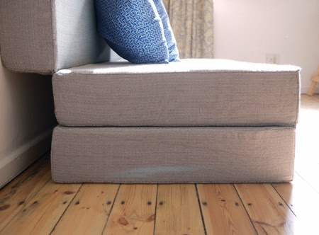 K&i Our Wonderful World DIY Fold out sofa bed