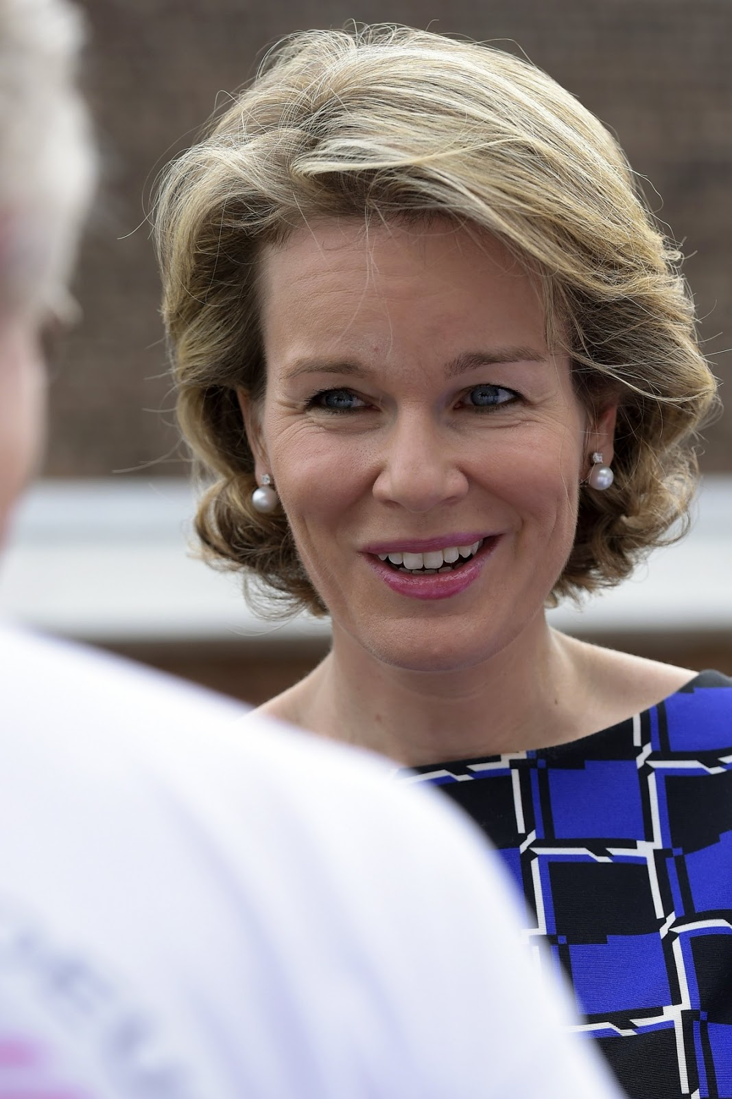 Queen Mathilde showed her support of the important work of these institutions.