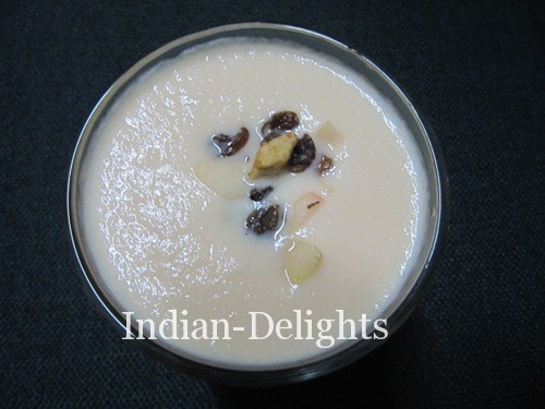 Muskmelon Milkshake Recipe