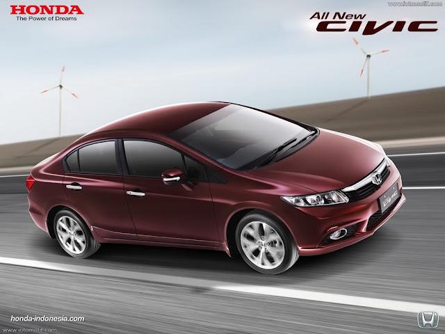 Pilihan Mobil Sedan Terbaik Honda Civic