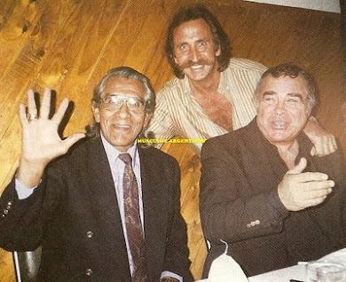 """INDIO COMANCHE, MARCO BRANDO, atras JOSUE  """"El Pastor"""""""