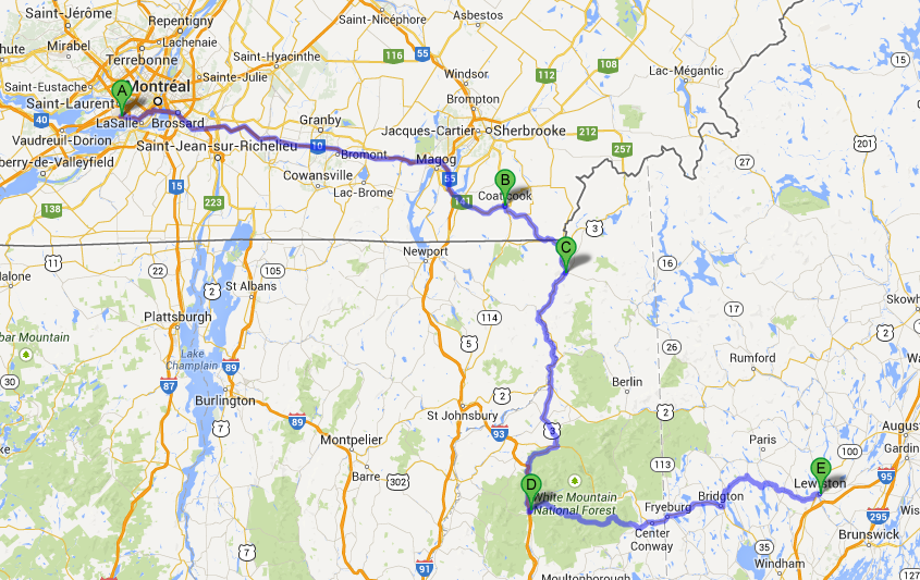 Populaire Terra (In)cognita - the world in pictures: Road trip - Canada  RD65