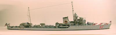 Battleships Vittorio Alfieri Papercraft (cacciatorpediniere)
