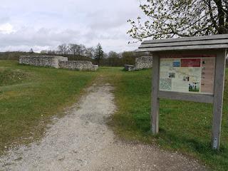 Kastell Pfünz - Reste des Westtores