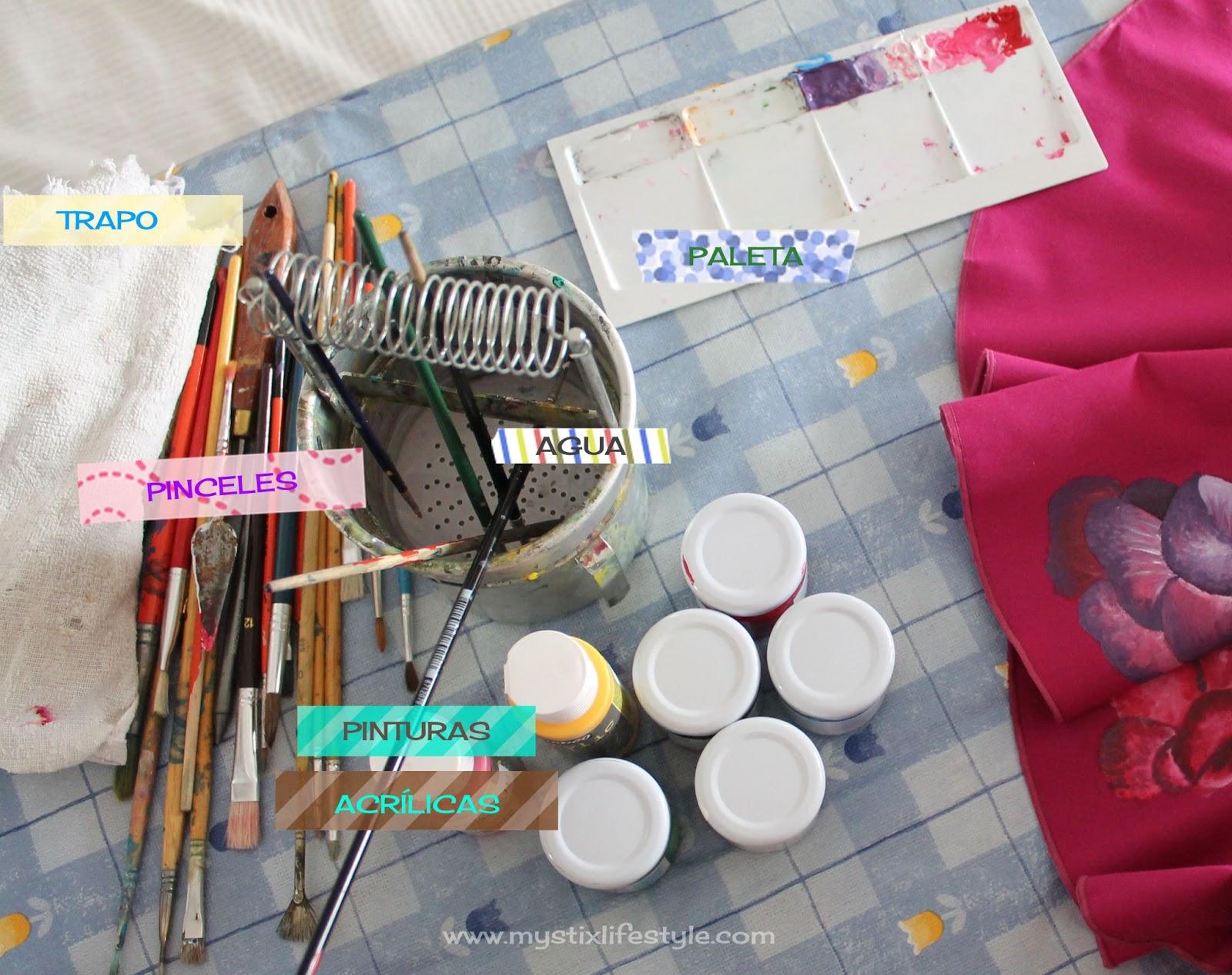 Pintar sobre tela c mo pintar un traje de flamenca mystix 39 s lifestyle - Como pintar sobre tela ...