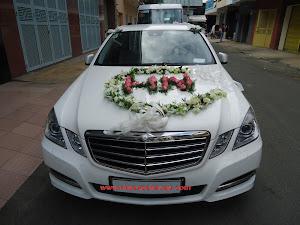 Hoa xe cưới MS009