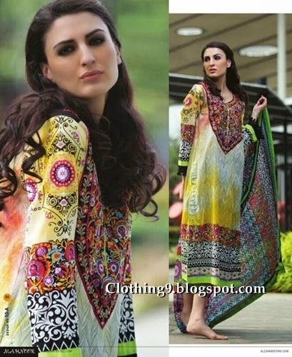 Mahnoor Summer Lawn Collection