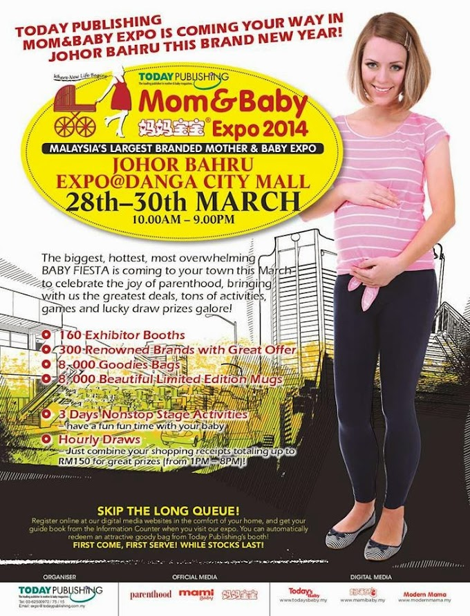 Mom and Baby Expo, Danga City Mall 2014