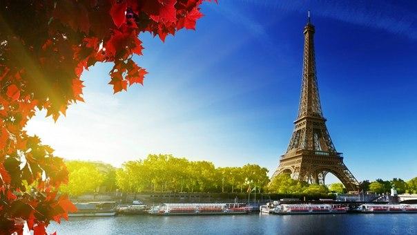 Красивые фотографии эйфелевой башни