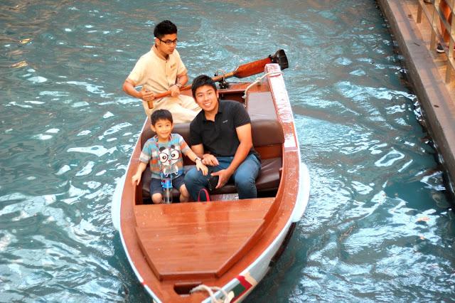 MBS sampan ride