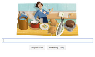 Google Doodle: 100 tahun Julia Child - Ingin Info