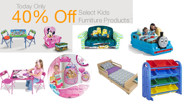 Fabulous Amazon deal of the day has off Select kids furniture and other products making for really great deals Valid today only