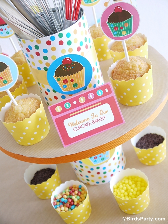 Kids Birthday Party Ideas How To Style A Baking For Boys Or Girls Printables