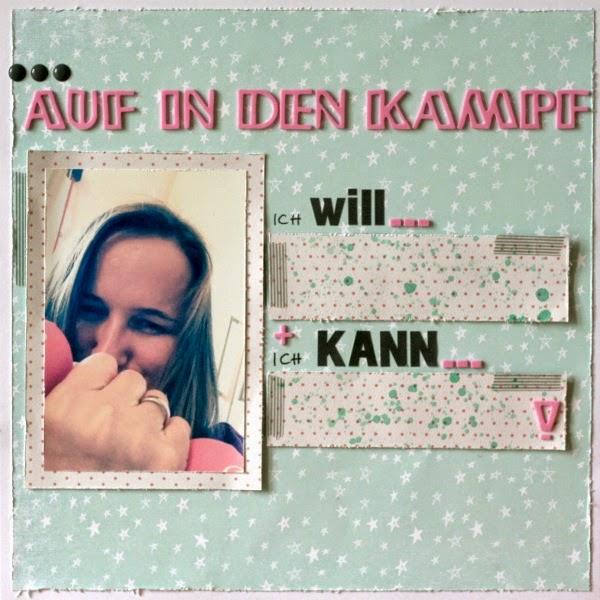Idee & Layout von Jessica für www.danipeuss.de
